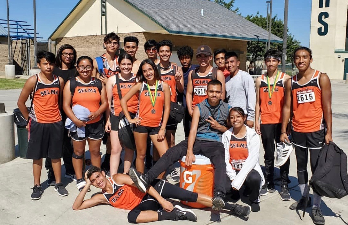 The cross country team poses for a photo. Contributed by Chris Rosas