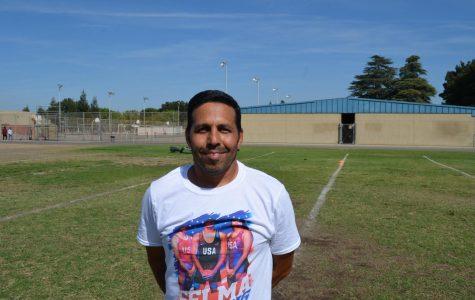 Welcoming PE Teacher Sam Lopez