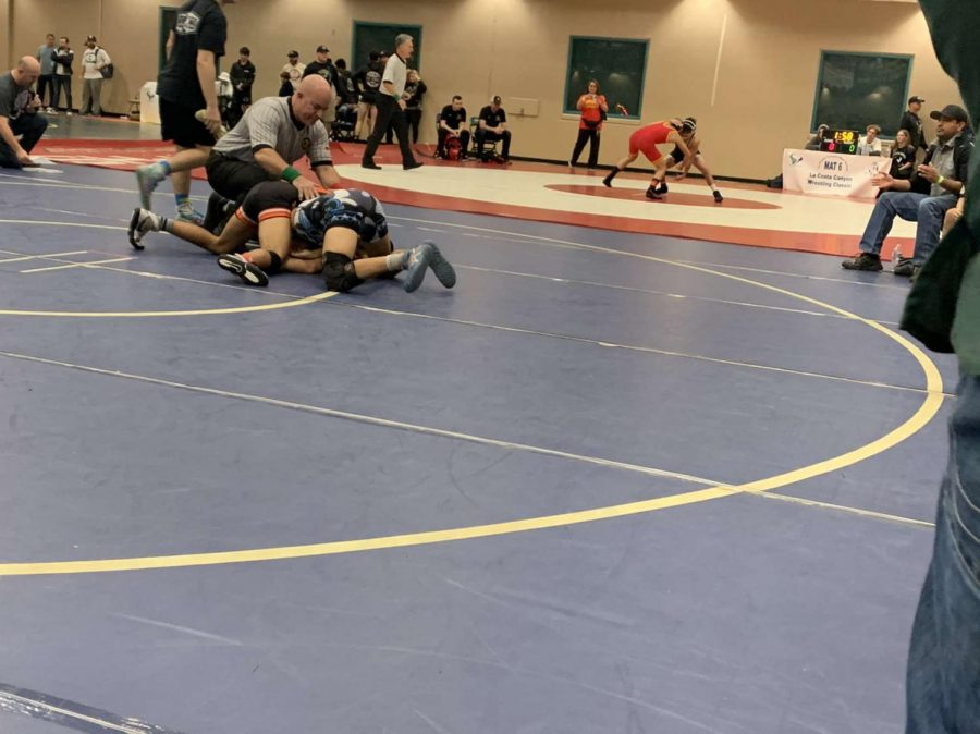 Selma placing in almost every match Photo contributed by Isaiah Hernandez