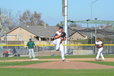 Isaiah Gastelum pitching.