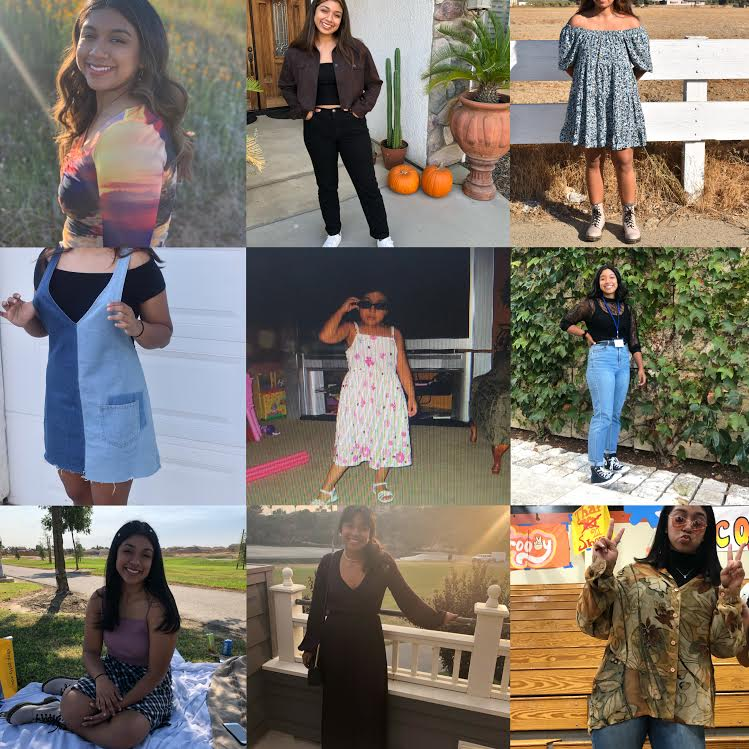 In the spirit of exploration, pictured are some of Chloe's favorite outfits from the past year.  (PC Chloe Mendoza)