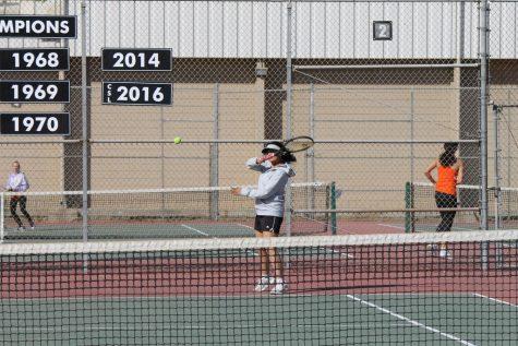 Girls' Tennis Rallying To Do Better